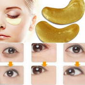 Lalang 5 Pack Collagen Eye Pads Anti Ageing Eye Mask Wrinkle Care, Repair and Moisturise Puffy Eyes, Dark Circles