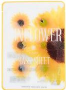 Pack of Sunflower Slice Sheet Face Mask