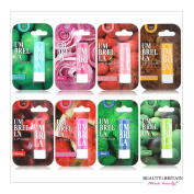 Lip Balm Lip Care 8 Different Flavours UV Protection Individually Packaged Wholesale
