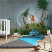 APALIS Frida Frees the Stars Photo Wallpaper Non-Woven Wallpaper Children's Wallpapers Wide Fleece Photo Wallpaper Wall Mural Wall 669064 94648 - Multi-Coloured 1374992