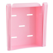 Hoomall Refrigerator and Fridge Storage Organiser Sliding Drawer, Pink