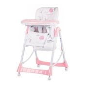 Chipolino Highchair Comfort Plus, Pink