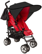 Sunnybaby 11240 Sun Shade for Pushchairs and Prams Flexi - XXL, Black