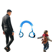 Child Anti-lost Belt Traction Rope ,ANGTUO Baby Children Anti-walk Throw Lost Ring with Anti-lost Belt Protection Safety Equipment Anti-lost Artefact Adjustabl,Blue
