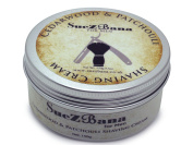SueZbana for Men Cedarwood & Patchouli Shaving Cream