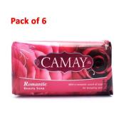 Camay Beauty Bar Soap, Romantic (Rose), 180ml (175g)-
