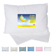 Angel Dreams Toddler Pillow 13x18 Bundle with Tailored Pillowcase