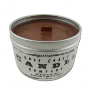 Asian Sandalwood All Natural Soy Scented Wood Wick Candle ~ 240ml ~Gulf Coast Candle Company