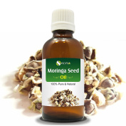 MORINGA SEED OIL (MORINGA-OLEIFERA) 100% NATURAL PURE CARRIER OIL 30ML