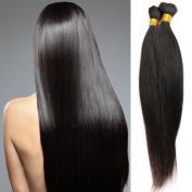 8A Grade Brazilian Virgin Hair Straight Bulk for Braiding 1Pcs Only No Attachment Braiding Hair