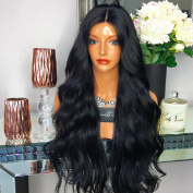Black Beauty Wig Thick and Soft Full Lace Human Hair Wigs For Black Women 180 Density Wavy Glueless Lace Front Brazilian Wigs