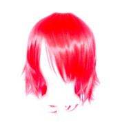 Ren - Hot Pink Wig 30cm Short Flare Cut