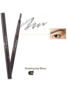 1 PC 5 Colours Women Lady Triangle Waterproof Eyebrow Pencil Eye Brow Pen With Brush Make-Up Tools
