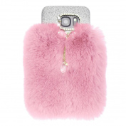 For Galaxy S7 Edge Case, HP95(TM) Warm Fluffy Villi Fur Plush Wool Bling Case Cover Skin For  for Samsung  Galaxy S7 Edge