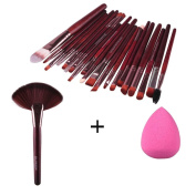 DaySeventh 2016 New Release 22pcs Professional Makeup Brush Makeup Sponge Makeup Foundation Brush