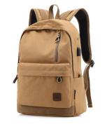 Teenage Boys Canvas Backpack Students School Bag Casual Daypacks Rucksack