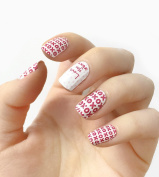 Authentic Incoco Nail Polish 16 Double-ended Strips By It's a Nail - Love Note