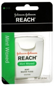 Reach Dental Floss, Mint, Waxed, 55 Yard