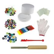 Extra Large Microwave Kiln Kit For Fusing Glass Kiln 9pcs Set