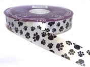 ACI PARTY AND SPIRIT ACCESSORIES Paw Print Ribbon, 100 Yd. Roll