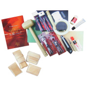 Leather Craft Hand Sewing 18 items Set