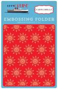 Carta Bella Paper Company CBLC65031 Embossing Folder -Smiling Sunshine