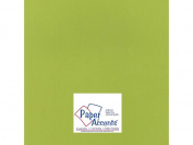 Accent Design Paper Accents ADP1212-25.15502 No.100 30cm x 30cm Crisp Green Heavy Weight Smooth Card Stock
