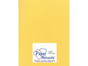 Accent Design Paper Accents ADP8511-25.24405 No.80 22cm x 28cm Golden Yellow Glimmer Card Stock