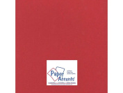 Accent Design Paper Accents ADP1212-25.12202 No.100 30cm x 30cm Chinese Red Heavy Weight Smooth Card Stock