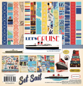 Carta Bella Paper Company CBLC65016 Let's Cruise Collection Kit