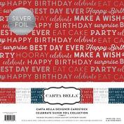 Carta Bella Paper Company CBCE004 Celebrate Foil Collection Kit