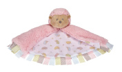 Roly Poly Hedgehog Warm and Fuzzy Mini Tag Baby Blanket