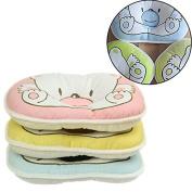 Bhbuy 1 pcs Baby Infant Support Cushion Pad Soft Cotton Prevent Flat Head Pillow Random Colour