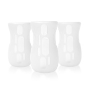Olababy Silicone Sleeve for AVENT Natural Glass Bottles (Pack of 3)