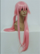 Kadiya Cosplay Wigs Long Styled Lovely Pink Girl Anime Halloween Party Wig