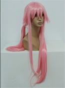 Kadiya Cosplay Wigs Long Styled Lovely Pink Girl Anime Halloween Party Wig