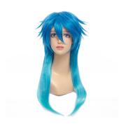Kadiya Cosplay Wigs Long Fashion Boy Teens Halloween Costume Wig