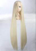 Kadiya Cosplay Wigs Long Straight Light Blonde Girl Anime Hair