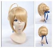 Kadiya Cosplay Wigs Light Blonde Updo Braided Fashion Girl Anime Hair