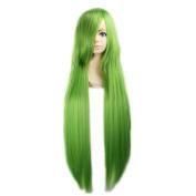 Kadiya Cosplay Wigs Long Green Fashion Girl Anime Show Costume Hair