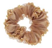 Fashionable Elegant Elastics Ponytail Holder Hair Rope/Ties Scrunchie Brown