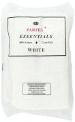 Partex Essentials White Towels - 12 ct