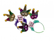 Mardi Gras Mask Headband Assortment