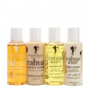 Rahua Jet Setter Kit Hair Shampoo & Conditioner + Body Gel & Lotion AB0047