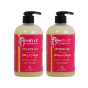 "Mielle Organics Styling Gel Honey & Ginger 13oz / 384ml ""Pack of 5.1cm"