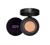 [Ground Plan] Ground Plan's First CC Cushion Foundation with Witch Hazel Etract without Purified Water with Strong Coverage and Durability with Moisturising