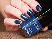 Chanel Le Vernis Nail Colour 553 Blue Rebel