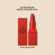 3CE Stylenanda Red Recipe Matt Lip Colour