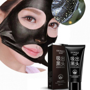 Creazy NEW Black Mud Deep Cleansing Pilaten Blackhead Remover Purifying Peel Face Mask