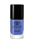 Adesse New York Organic Infused Gel Effect Nail Polish- Balladonna Bleu 11ml
